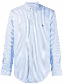 Polo Ralph Lauren рубашка с вышивкой Polo Pony 710818196