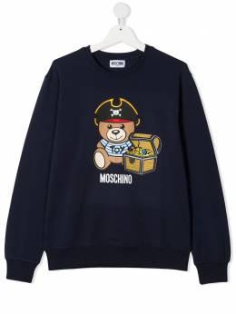 Moschino Kids толстовка Teddy Pirate HNF043LDA12