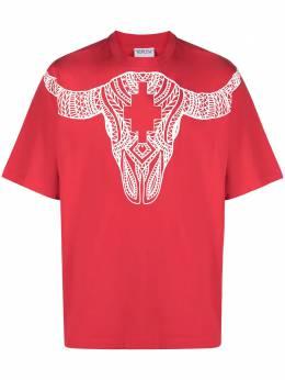Marcelo Burlon County Of Milan футболка с принтом CMAA054T21JER0012501
