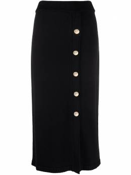 Temperley London трикотажная юбка с завышенной талией 21SFAF54082