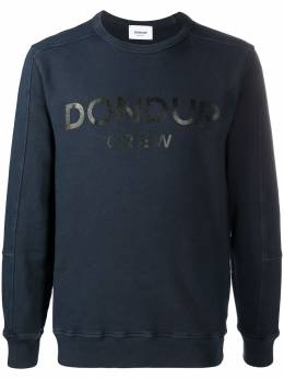 Dondup толстовка Crew с логотипом UF642KF0151