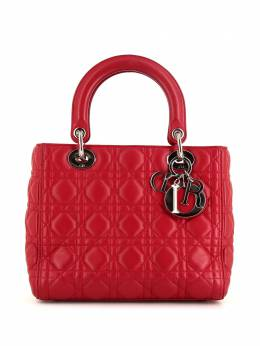 Christian Dior сумка-тоут Lady Dior Cannage pre-owned 367968