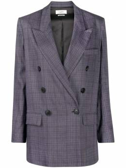 Isabel Marant Etoile double-breasted checked blazer VE150821P013E