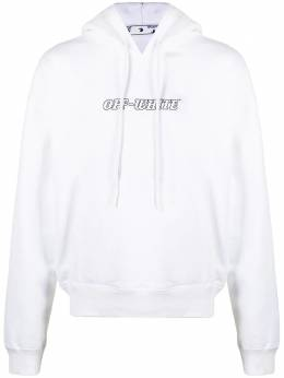 Off-White Pascal Painting logo-print hoodie OMBB037R21FLE0070131