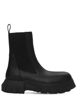 Кожаные Ботинки Chelsea Rick Owens 73IATF013-OTk1