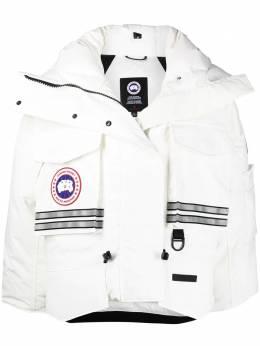 Canada Goose укороченная куртка Snow Mantra из коллаборации с Angel Chen 8800LC