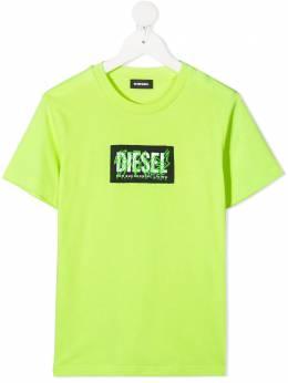 Diesel Kids футболка с логотипом J0011200YI9