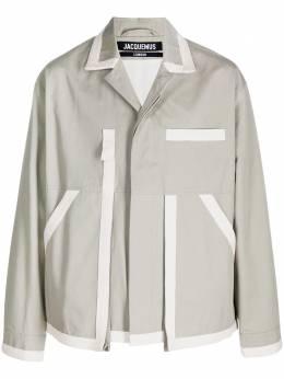 Jacquemus легкая куртка на пуговицах 215BL03215101530