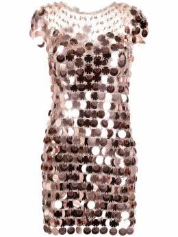 Paco Rabanne платье с пайетками 21PIR0014PS0138
