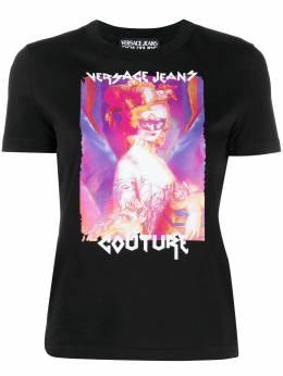 Versace Jeans Couture футболка с принтом Rococo B2HWA72611620