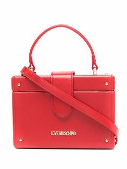 Love Moschino каркасная сумка с верхней ручкой JC4106PP1BLI0