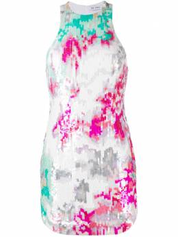 The Attico платье без рукавов с пайетками 211WCA61