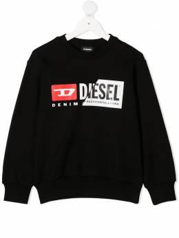 Diesel Kids свитер с логотипом J000960IAJH