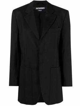 Jacquemus notched-lapel single-breasted blazer 211JA04211103990