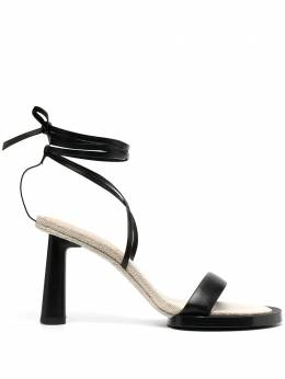 Jacquemus strappy lace-up sandals 211FO10211401990