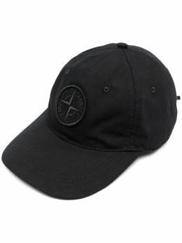 Stone Island кепка с вышитым логотипом 741599468