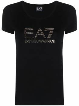 Ea7 футболка с логотипом 3KTT26TJ12Z
