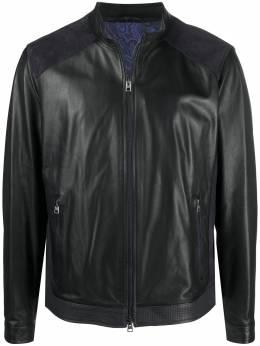 Etro куртка со вставками 1L1598211