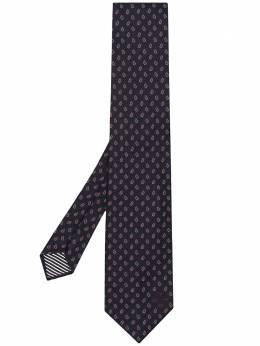 Etro галстук с принтом 1T1233015