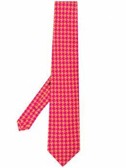 Etro галстук в ломаную клетку 120265134