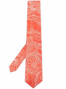 Etro галстук с принтом 120265133