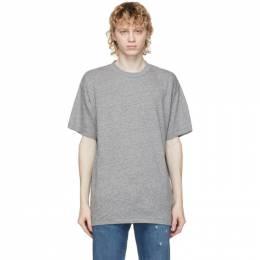 John Elliott Grey University T-Shirt A190A0923A