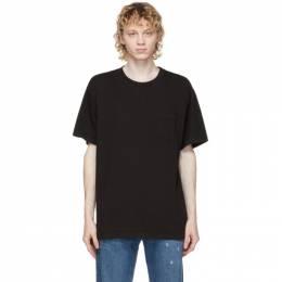 John Elliott Black Lucky Pocket T-Shirt A220M1410A