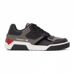 Diesel Black S-Rua SK Low Sneakers Y02335 PR131
