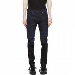Diesel Black D-Strukt 0098B Jeans A00087 009MP