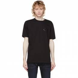 Diesel Black T-Just-Slits-A30 T-Shirt A01684 0PATI