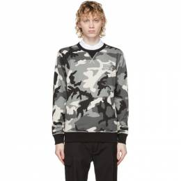 Diesel Grey Camo Umlt-Willy Sweatshirt 00CS7C 0ICAT
