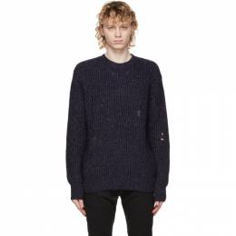 Diesel Navy K-Carbon Sweater A01955 0ADAE