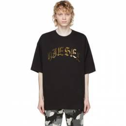 Diesel Black T-Ball-A1 T-Shirt A01866 0PATI