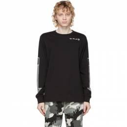Diesel Black T-Just-LS-A8 Long Sleeve T-Shirt A01993 0HAYU