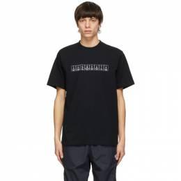 Vetements Black Chemical Logo T-Shirt UE51TR220B