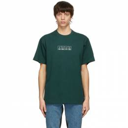 Vetements Green Chemical Logo T-Shirt UE51TR230G