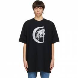 Vetements Black Star Girl T-Shirt UE51TR740B