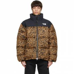 Vetements Black Leopard Limited Edition Puffer Jacket UE51JA550L