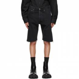 Vetements Black Denim Haute Couture Shorts ME51PA120B
