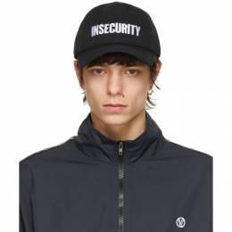 Vetements Black Insecurity Cap UE51CA100B