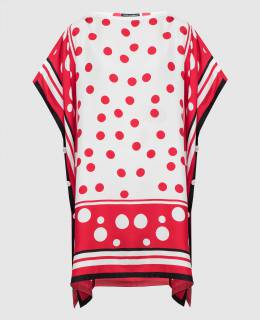 Туника из шелка Dolce&Gabbana 2300006586231