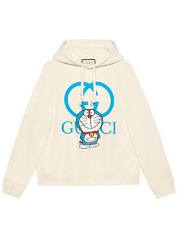 Худи Doraemon X Gucci 73IH0K059-OTE1MA2