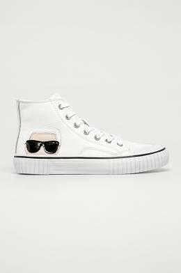 Karl Lagerfeld - Кожаные кеды 5056272395714