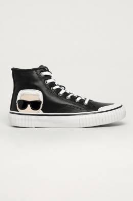 Karl Lagerfeld - Кожаные кеды 5056272395653