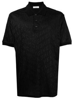 Givenchy рубашка поло с логотипом BM711A30KX