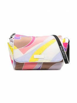 Emilio Pucci Junior пеленальная сумка с принтом 9O0518OD510