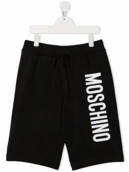 Moschino Kids спортивные шорты с логотипом HMQ007TLDA27