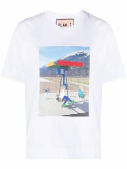 Plan C футболка с графичным принтом THCJA01S69TJ00200W01