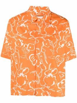 Plan C рубашка с цветочным принтом CMCAA06J00TC066FIA50