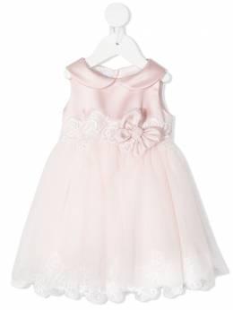 Colorichiari расклешенное платье с цветочной вышивкой FN1058273232